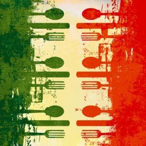 Bild: Klassische italienische Menüfolge