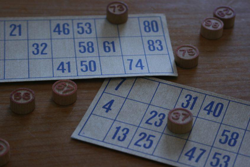Tombola, Bingo, Karten